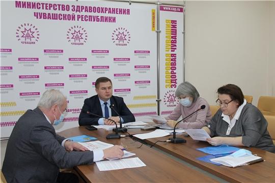 Министр здравоохранения Чувашии Владимир Степанов принял участие в работе Координационного Совета ТФОМС