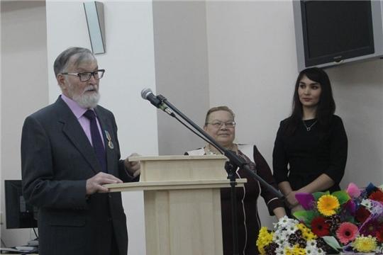 В Национальной библиотеке отметили юбилей Виталия Станьяла