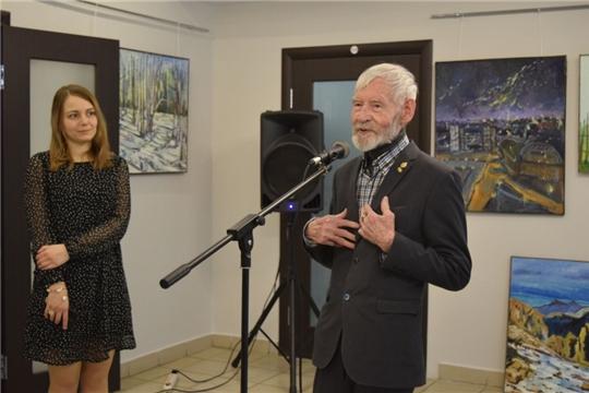 В Чебоксарах открылась выставка члена Московского отделения Союза художников России Светланы Сухаревой