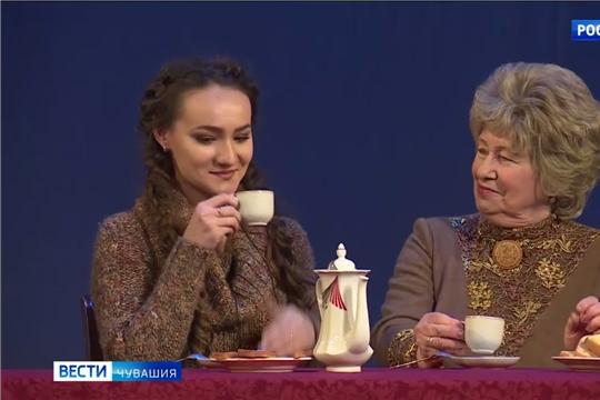 Свой юбилей отмечает Татьяна Яфанова - народная артистка Чувашии, актриса Русского драматического театра