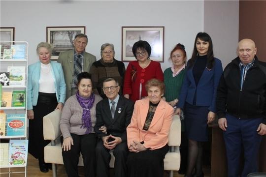 В Национальной библиотеке провели вечер-портрет к 95-летию Александра Лукашина