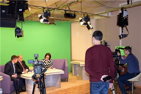 В эфире Новочебоксарского телевидения - Дом Дружбы народов Чувашии