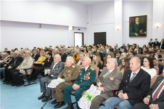 В Национальной библиотеке прошел памятный вечер, посвященный Дням воинской славы России