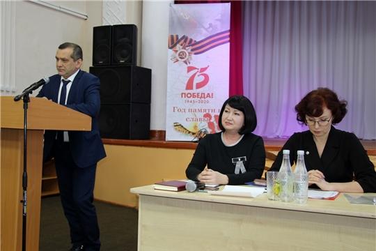 Заместитель министра культуры Елена Чернова приняла участие в совещании работников культуры Моргаушского района