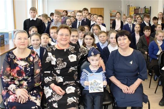 В  детско-юношеской библиотеке состоялась презентация книги М. Водопьянова «Штурман Фрося»