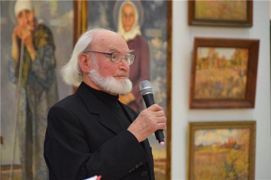 Открылась выставка, посвящённая 85-летию заслуженного художника России Николая Карачарского