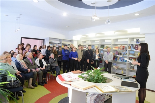 В Национальной библиотеке открылась выставка «Чувашская Республика: летопись столетия»