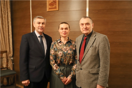 И.о. министра культуры Роза Лизакова посетила Чувашский драматический театр