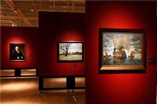 Картины из Чувашского государственного художественного музея представлены в Государственной Третьяковской галерее