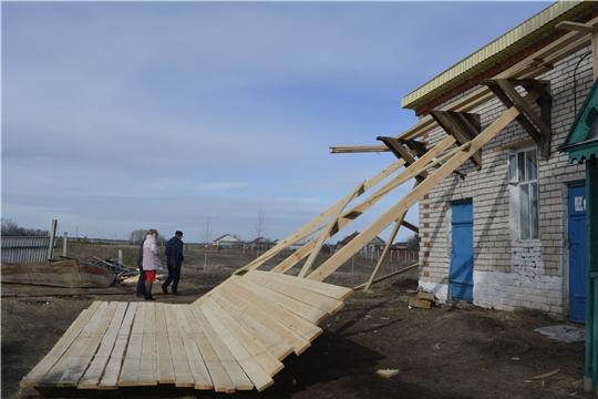 В Яльчикском районе ремонтируются сельские дома культуры
