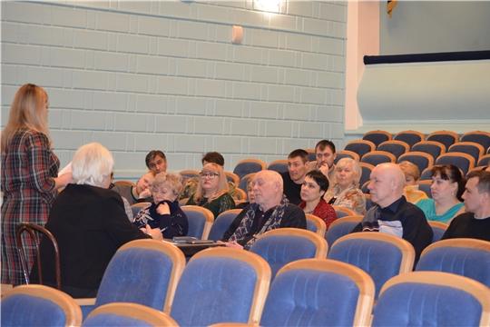 В русском драматическом театре провели рабочее совещание по поправкам в Конституцию Российской Федерации