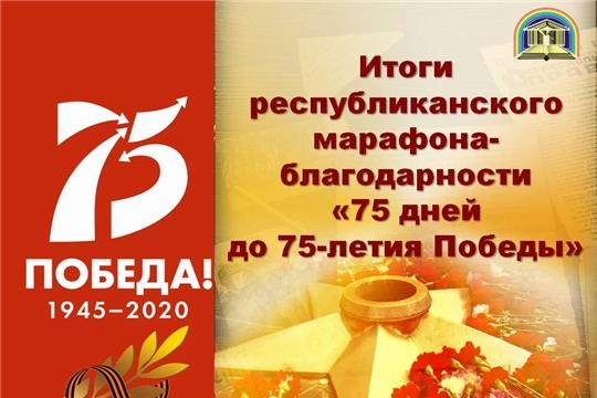 Подведены итоги республиканского марафона-благодарности «75 дней до 75-летия Победы»