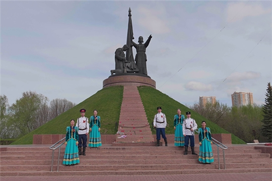 Гвардейский народный казачий ансамбль «Раздолица» принял участие в международном музыкальном онлайн-марафоне