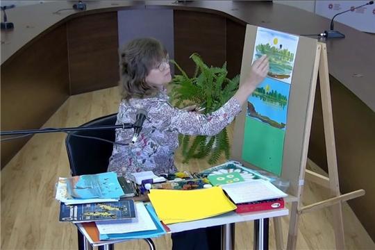 В библиотеке прошли мастер-классы к Международному дню защиты детей