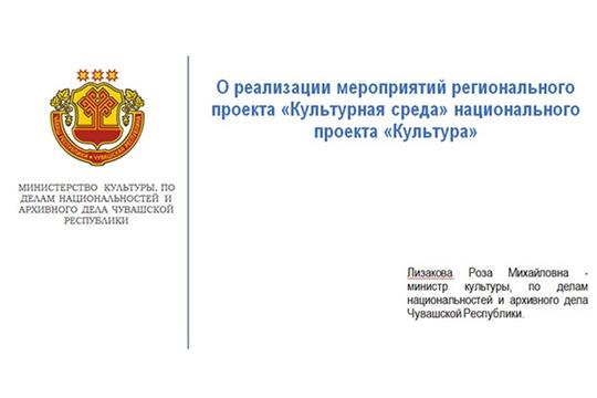 Министр Роза Лизакова доложила о ходе реализации регионального проекта «Культурная среда»