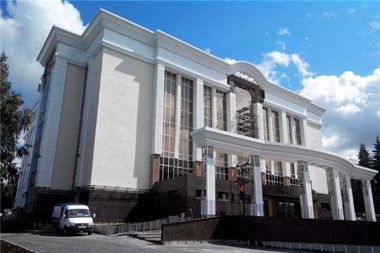 В Чебоксарах реконструкция Чувашской государственной филармонии идет по графику