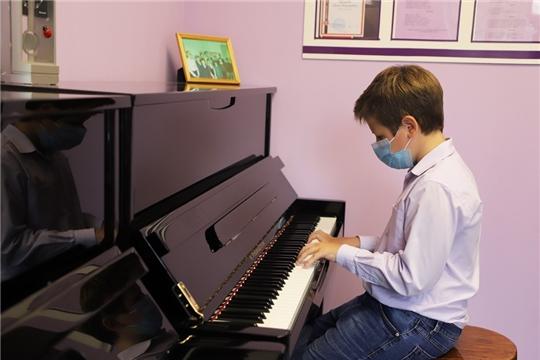 В детскую школу искусств в г. Козловка Чувашской Республики поступили новые музыкальные инструменты