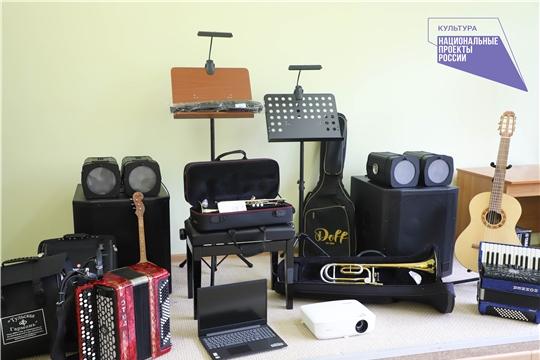 В Новочебоксарскую детскую музыкальную школу поступают новые музыкальные инструменты