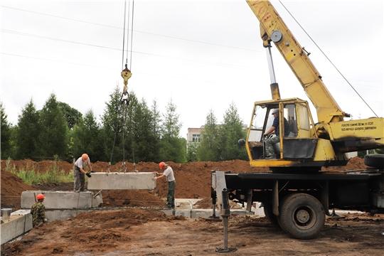В Канашском районе приступили к строительству нового Дома культуры