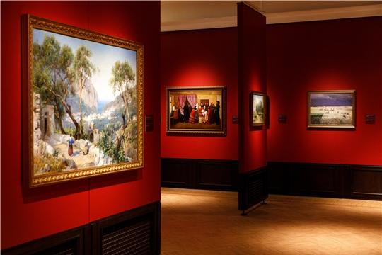 Продолжает работу выставка из фондов Чувашского государственного художественного музея