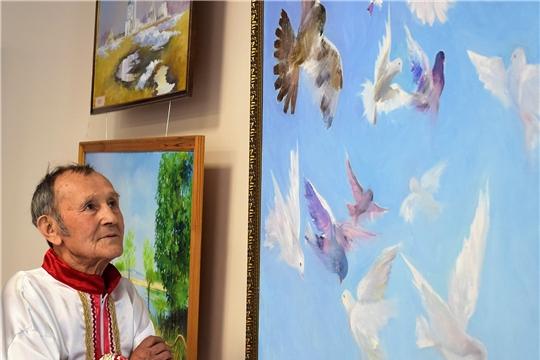 В Доме Дружбы народов Чувашии открылась выставка чувашского художника из Республики Татарстан Валериана Киргизина