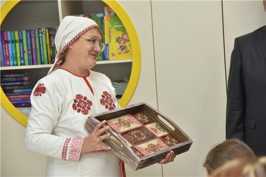 В Чувашии открылась библиотека нового поколения