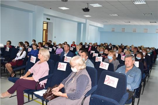 Моргаушский район с рабочим визитом посетила заместитель министра культуры Елена Чернова