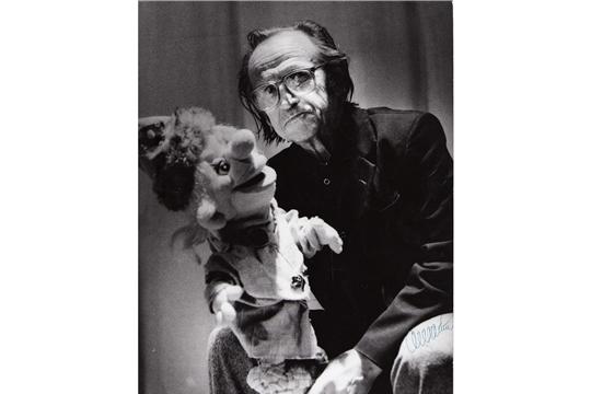 История Чувашского театра кукол в лицах: 90 лет со дня рождения художника Владимира Карпова