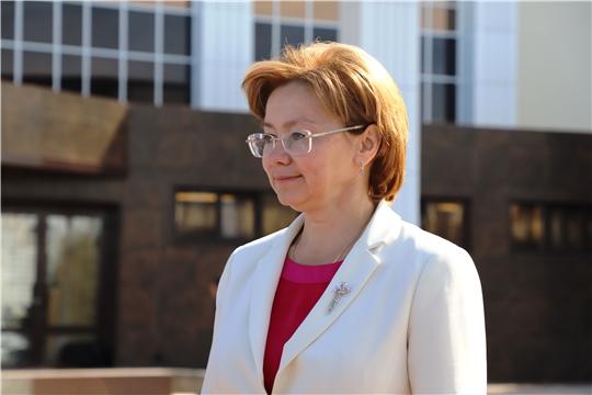 Заместитель министра культуры России Ольга Ярилова посетила Чувашскую государственную филармонию