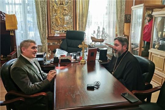 Олег Николаев встретился с владыкой Савватием