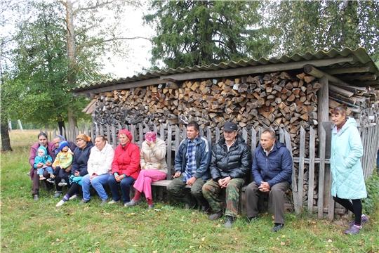 Министр культуры Роза Лизакова встретилась с жителями Шумерлинского района