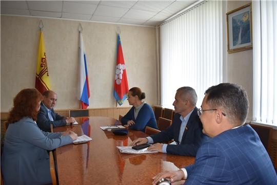 Ядринский район с рабочим визитом посетила министр культуры Чувашии Роза Лизакова