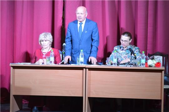 Роза Лизакова встретилась с работниками культуры Мариинско-Посадского района