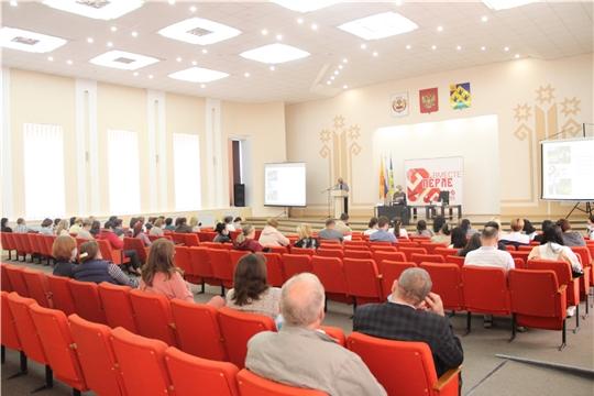 г. Новочебоксарск посетила министр культуры Чувашии Роза Лизакова