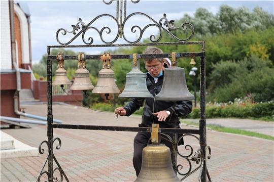 В Новочебоксарске открыт фестиваль колокольного искусства «Волжские перезвоны»