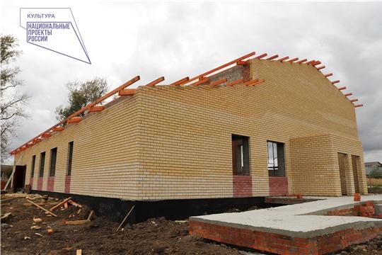 Рабочие группы еженедельно инспектируют ход строительства домов культуры в рамках нацпроекта «Культура»