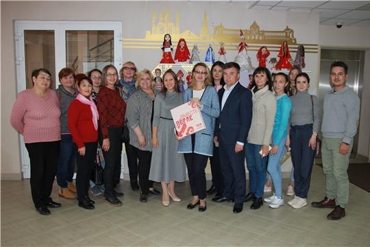 С опытом Дома Дружбы народов Татарстана ознакомились коллеги из Чувашии