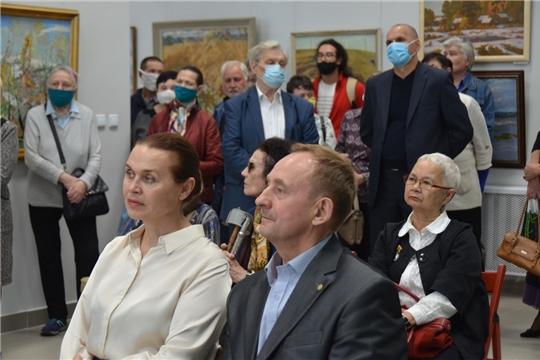 Состоялось открытие юбилейной выставки «85 лет Союзу художников»
