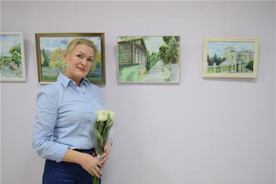 Выставка акварели «19/20» развернулась в Национальной библиотеке Чувашской Республики
