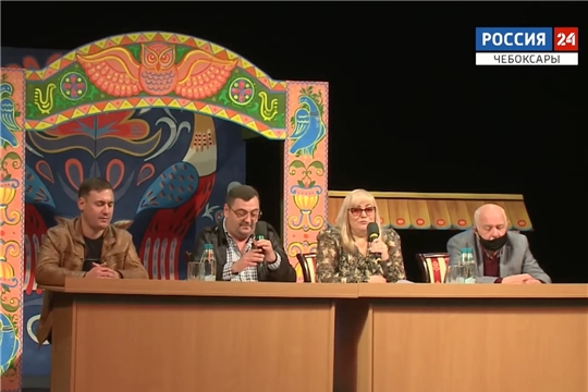 В преддверии открытия сезона в Русском драмтеатре прошла пресс-конференция