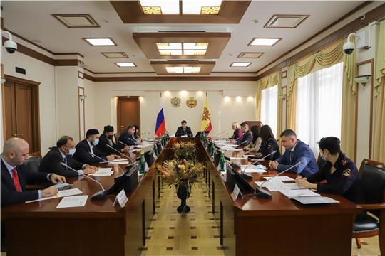 Состоялось заседание Совета по межнациональным и межконфессиональным отношениям в Чувашской Республике