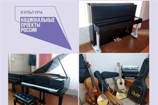 Чебоксарская детская музыкальная школа №5 им. Ф.М. Лукина получила музыкальные инструменты и оборудование в рамках нацпроекта «Культура»