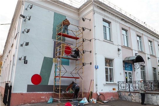 Чувашия принимает участие в Фестивале стрит-арта Приволжского федерального округа «ФормArt»