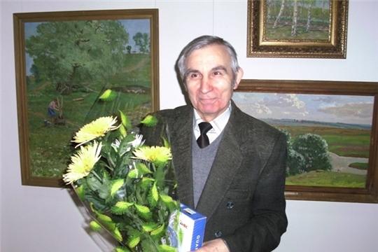 В Чувашском государственном художественном музее сегодня открывается выставка к 80-летию заслуженного работника культуры РФ Николая Садюкова