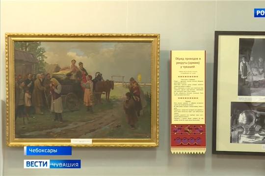 К 150-летию Николая Ашмарина в Чувашском национальном музее открылась выставка