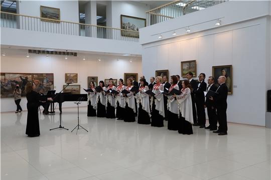В Чувашском государственном художественном музее открылись две юбилейные выставки