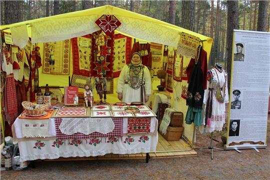 В рамках фестиваля «Добровидение-2020» прошла выставка чувашской вышивки