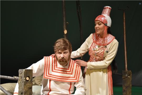 Чувашский академический драматический театр имени К.В. Иванова приглашает на премьеру спектакля «Шуйттан чури» (Раб дьявола)