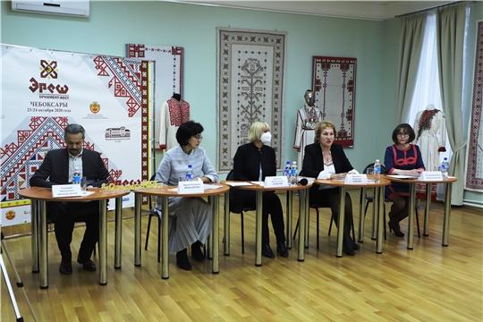 Состоялась пресс-конференция по учреждению Дня чувашской вышивки