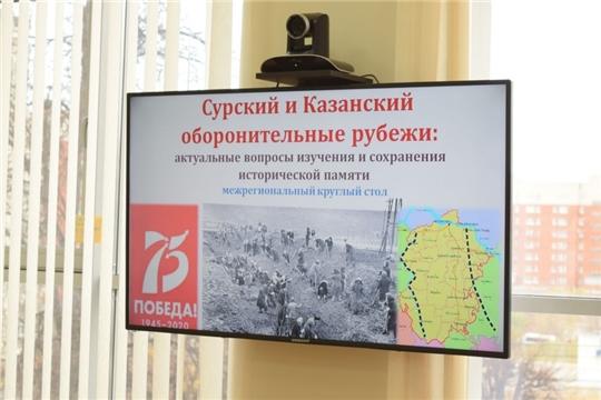 В Национальной библиотеке обсудили вопросы сохранения исторической памяти Сурского и Казанского оборонительных рубежей